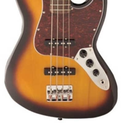 Jay Turser JTB Series 4-String Bass, Maple Neck,Tobacco Sunburst   JTB-402-TSB for sale