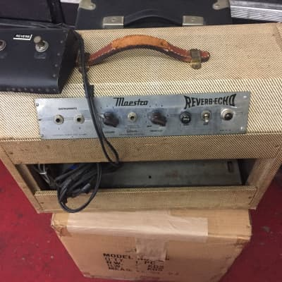 Gibson  Gibson Maestro Reverb Echo GA-1RT, 1950's Tweed Reverb and Tremolo for sale