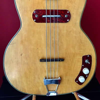 KAY PRO BASS GUITAR JIMMY REED 50's BLOND for sale