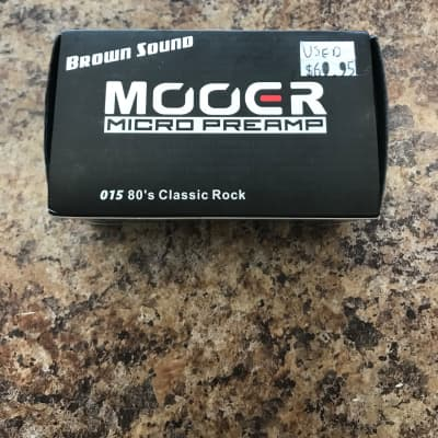 Mooer Brown Sound Micro Preamp