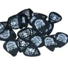 Dunlop Guitar Picks Tortex  Lucky 13 Helmet Skull .73mm 36 Pack image