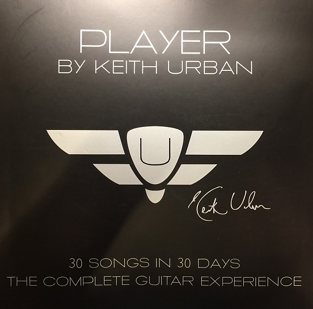 Keith Urban PLAYER 2016 30 SONGS IN 30 DAYS DVD LESSONS | Reverb