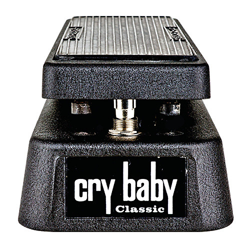 Jim Dunlop GCB95F Cry Baby Classic Wah Pedal w/ Retro Fasel Inductor