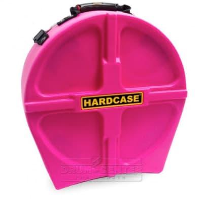 """Hardcase Snare Drum Case 14"""" Pink"""