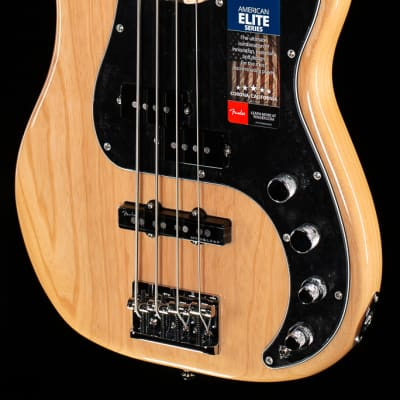 Fender American Elite Precision Bass Natural (228) for sale
