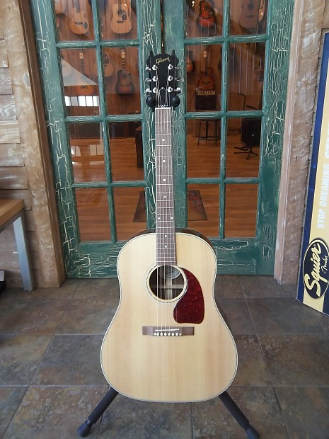 053429e8df Gibson J15 J-15 Acoustic Electric Guitar in Antique Natural | Reverb