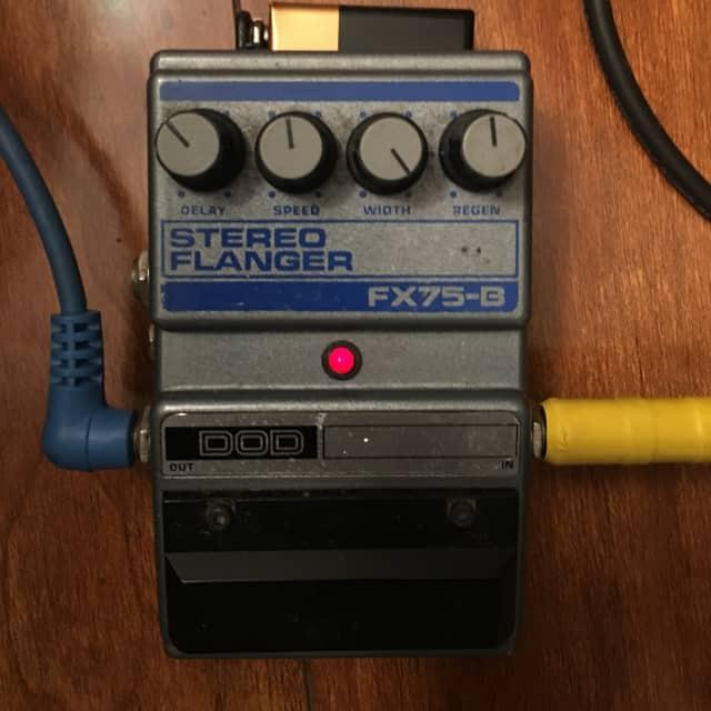 DOD Stereo Flanger FX75-B 1990's image