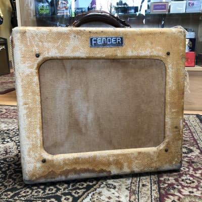 1952 Fender Deluxe 5A3 Tweed Vintage Guitar Combo Amplifier