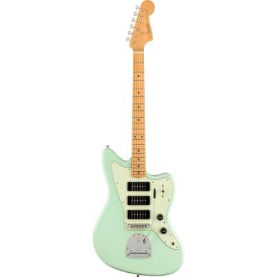 Fender Noventa Jazzmaster MN Surf Green Electric Guitar with Deluxe Gig Bag for sale