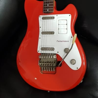 Selmer/Resonet Futurama 3. Czechoslovakia 1963. Fiesta Red. Completely Original. Lovely Condition! for sale