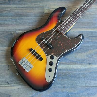 2019 History (Fujigen Japan) CZ-BJ4/R Jazz Bass (Sunburst) for sale