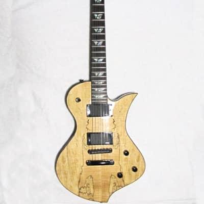 Fernandez-FERNANDES-Ravelle-Deluxe-Spalted-Series-Guitar-w-Hard-Case thumbnail 1 Fernandez-FERNAN for sale