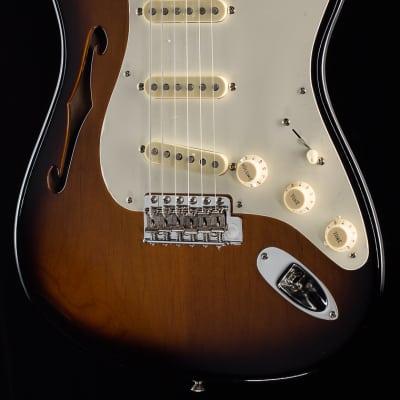 Fender Eric Johnson Signature Stratocaster® Thinline 2-Color Sunburst (273)