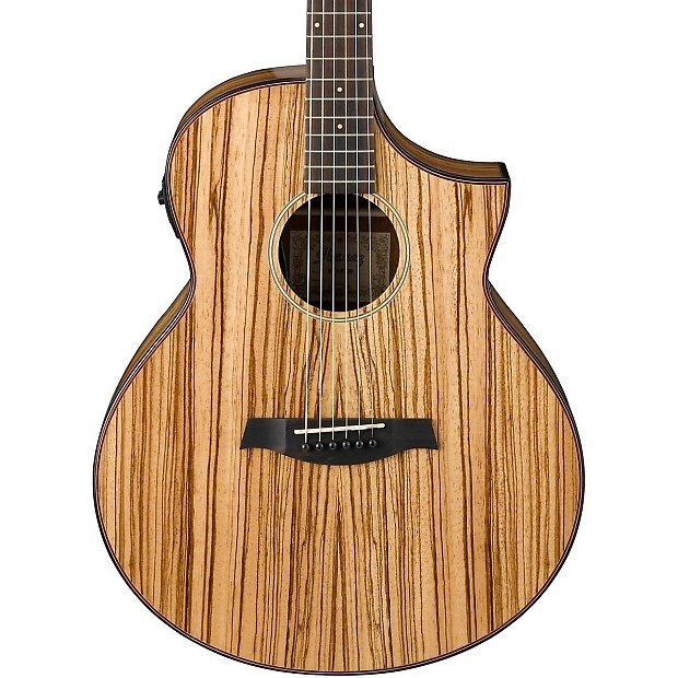ibanez exotic wood aew40zw acoustic electric guitar bundle reverb. Black Bedroom Furniture Sets. Home Design Ideas