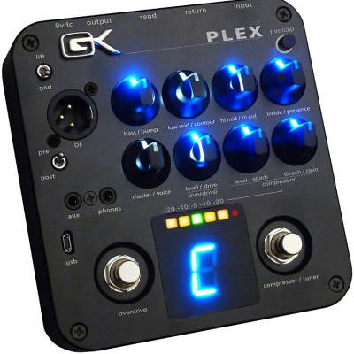 Gallien-Krueger PLEX Preamp - 4 Band Active Preamp Pedal for sale