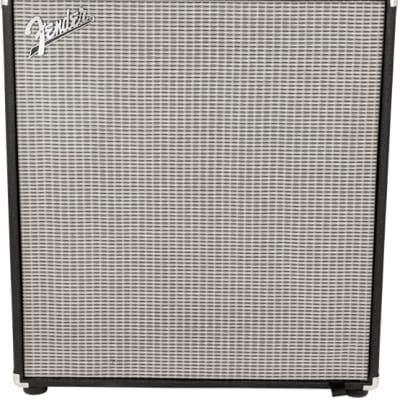 Fender Rumble™ 410 Cabinet (V3), Black/Silver
