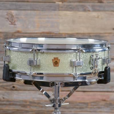 """WFL No. 906 Compacto 4x14"""" 8-Lug Piccolo Snare Drum 1949 - 1959"""