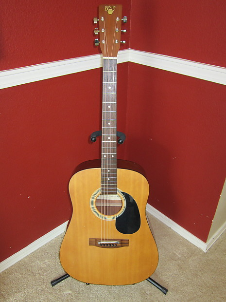 Bently 5106 Satin Natural Acoustic Guitar Mid 80 S