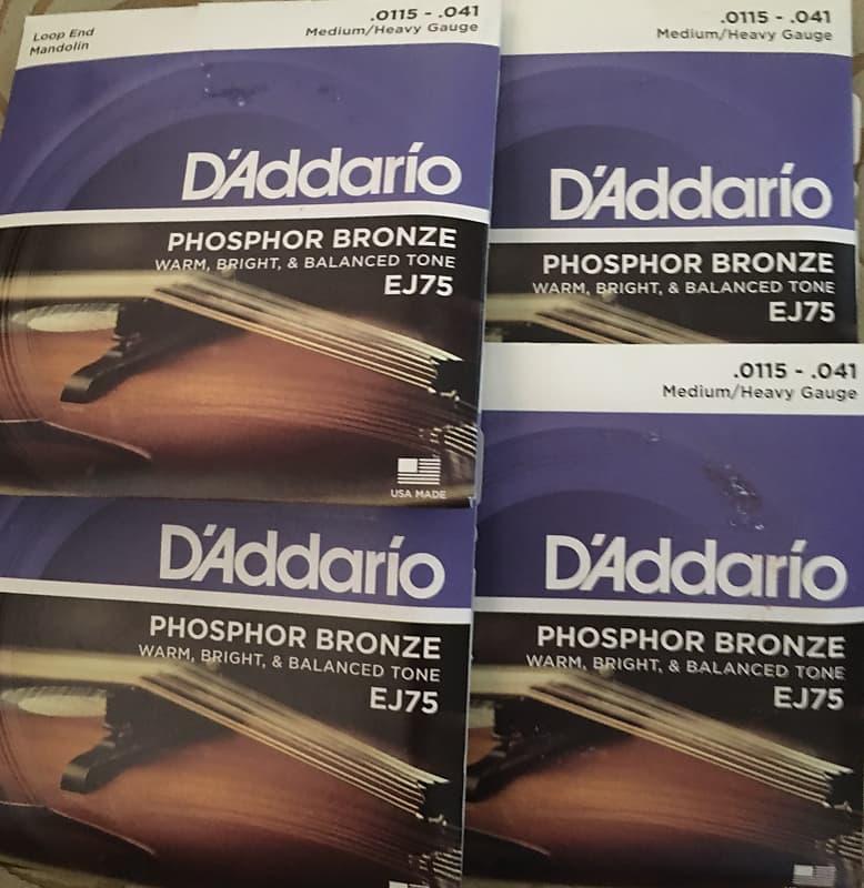 d 39 addario ej26 3d phosphor bronze acoustic guitar strings reverb. Black Bedroom Furniture Sets. Home Design Ideas