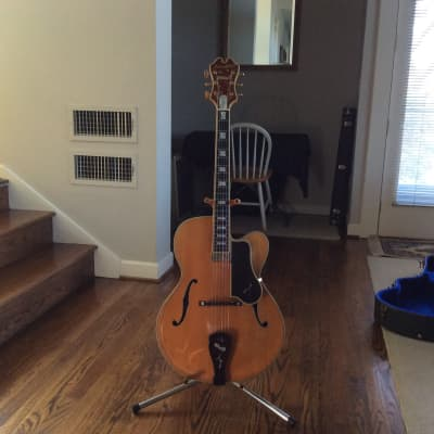 "Benedetto Artist 15"" archtop Blonde for sale"