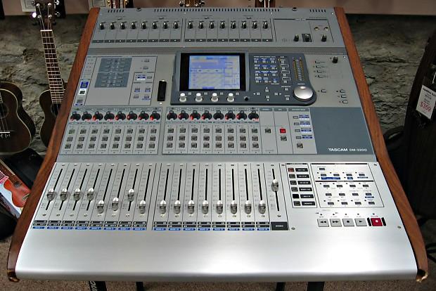 Digital Mixer Firewire : used tascam dm 3200 digital mixer with if fw dm firewire card reverb ~ Vivirlamusica.com Haus und Dekorationen
