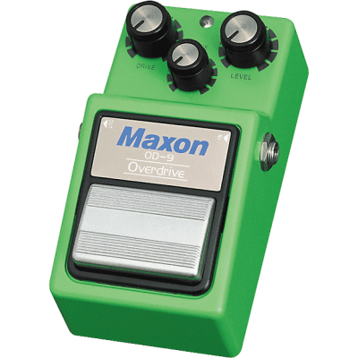Maxon OD-9 Overdrive Guitar Effects Pedal for sale