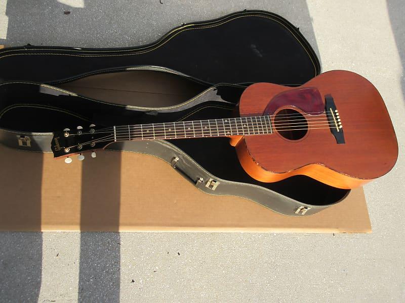 Vintage 1960s 1965 Gibson Lgo Acoustic Guitar Skymuzik