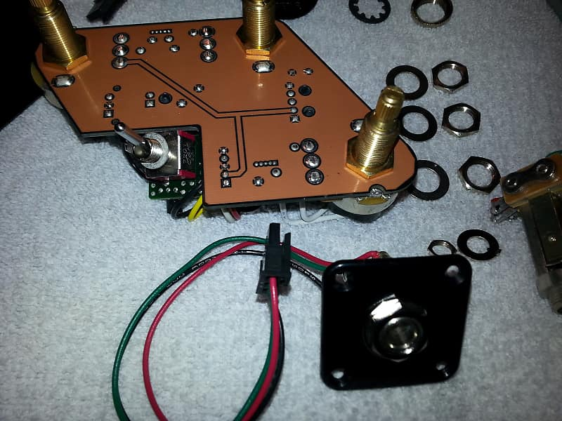 Gibson Les Paul Coil Split And 15dB Boost Switch Board 2014. | Reverb