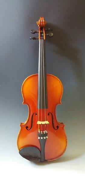 Andrew Schroetter Model 420 4 4 Size Violin 1992 Brown