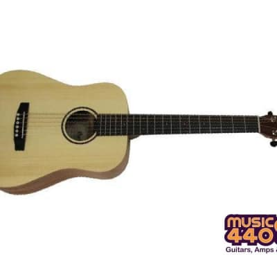 Cort Earth-Mini Travel Acoustic Guitar with Pickup - Natural for sale