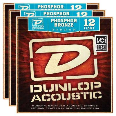 Dunlop DAP1254  Phosphor Bronze Acoustic String Bundle