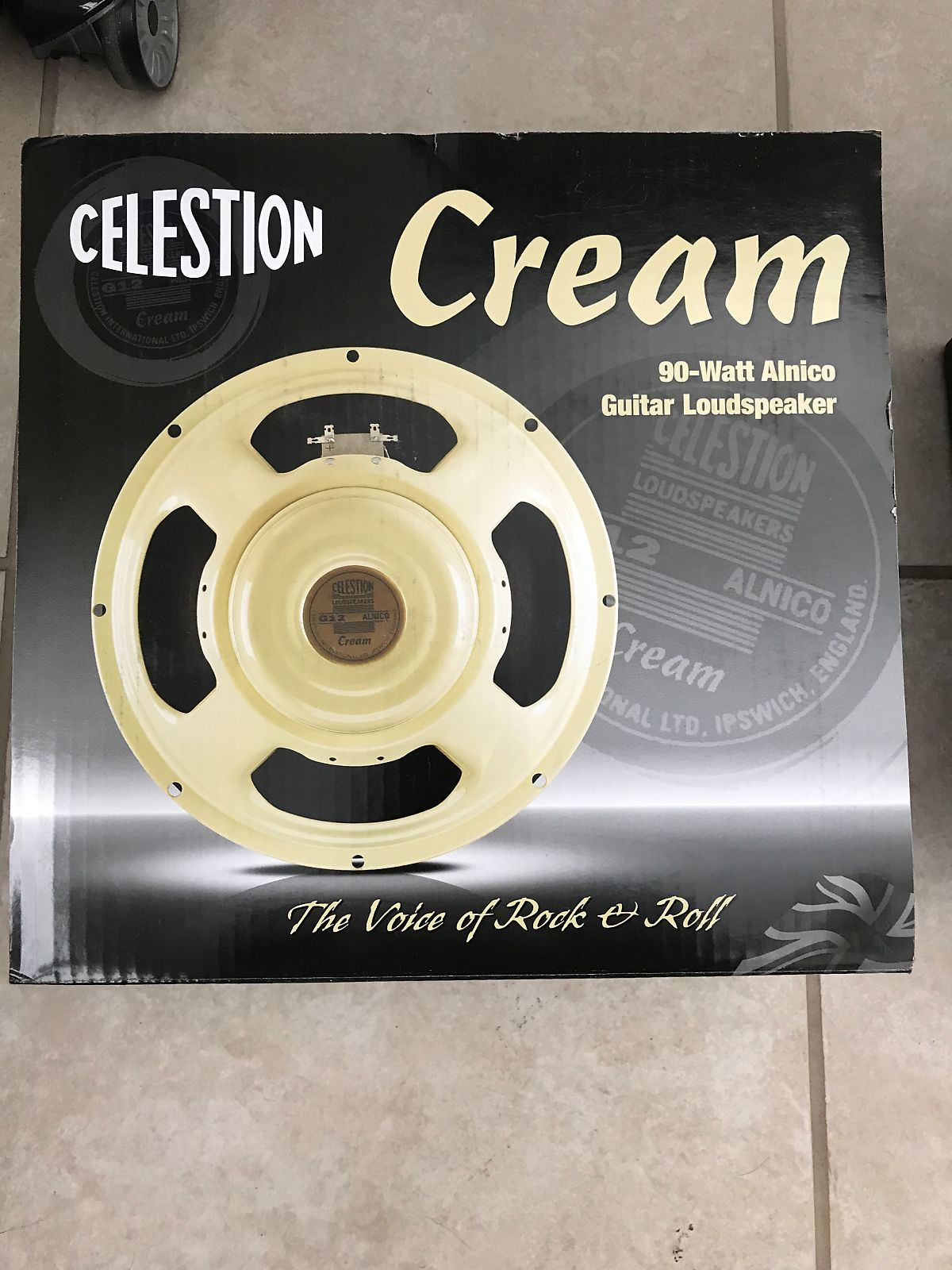 celestion t5954 12 alnico series cream 90w 16 ohm reverb. Black Bedroom Furniture Sets. Home Design Ideas