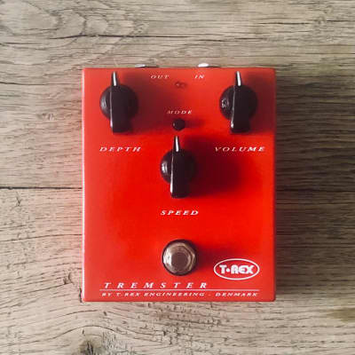 T-Rex Tremster Tremolo Pedal - Full-Featured, Superb Vintage Sound