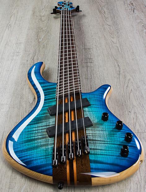 mayones patriot vf 5 string bass multi scale jeans black reverb. Black Bedroom Furniture Sets. Home Design Ideas