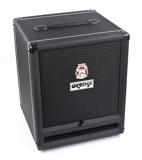 Orange SP212 - 2 X 12 Isobaric Speaker Cabinet, Black