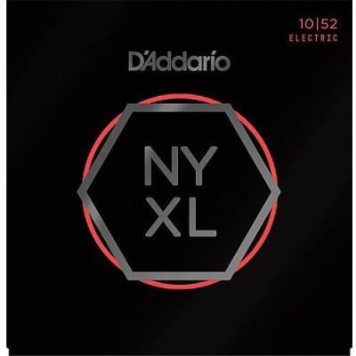 D'Addario NYXL Nickel Wound Electric Guitar Strings - Light Top/Heavy Bottom - 10-52
