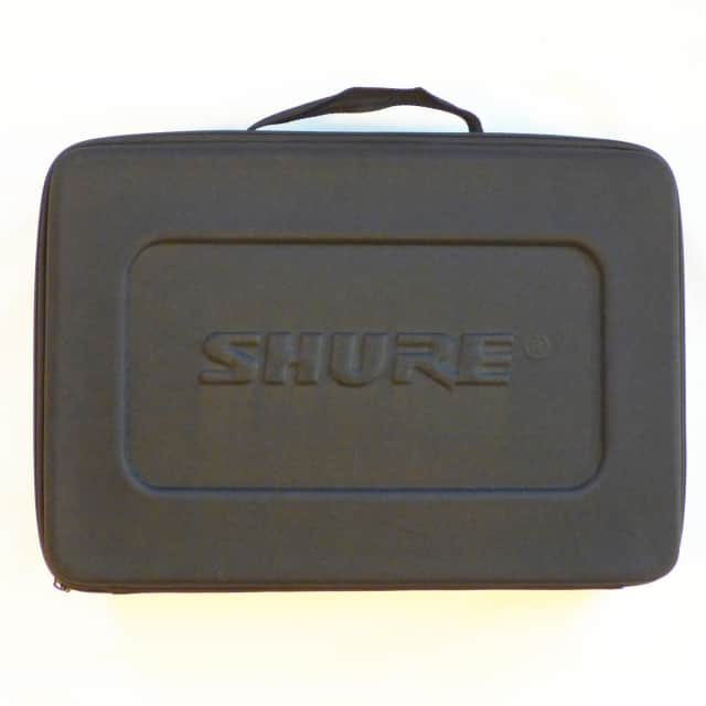 Shure Padded Microphone Carrying Case - Holds SM57, Beta 52A & Other Mics - Mint Condition image