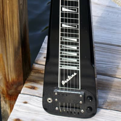 Airline Lap Steel Guitar made by Supro/Valco with String-thru Pickup - Circa 1961 for sale