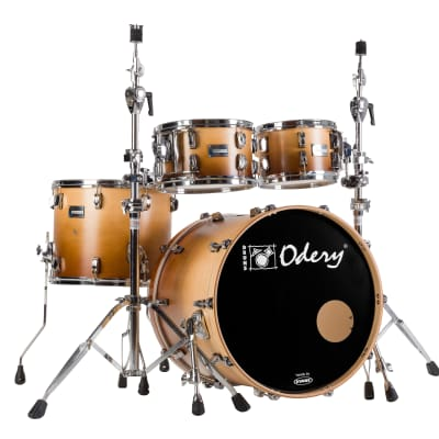 Odery Eyedentity Drum Set Shell Pack--Maple, Imbuia Fade: 10, 12, 14, 20