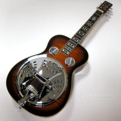 Paul Beard Squareneck Resonator Guitar w/ Hard Case