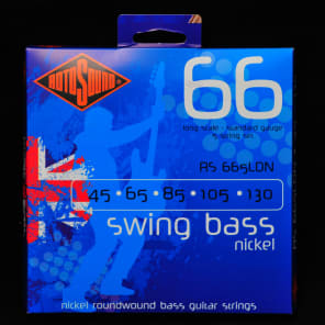 Rotosound RS665LDN Roundwound 5-String Long Scale Bass Strings - Standard (45-130)
