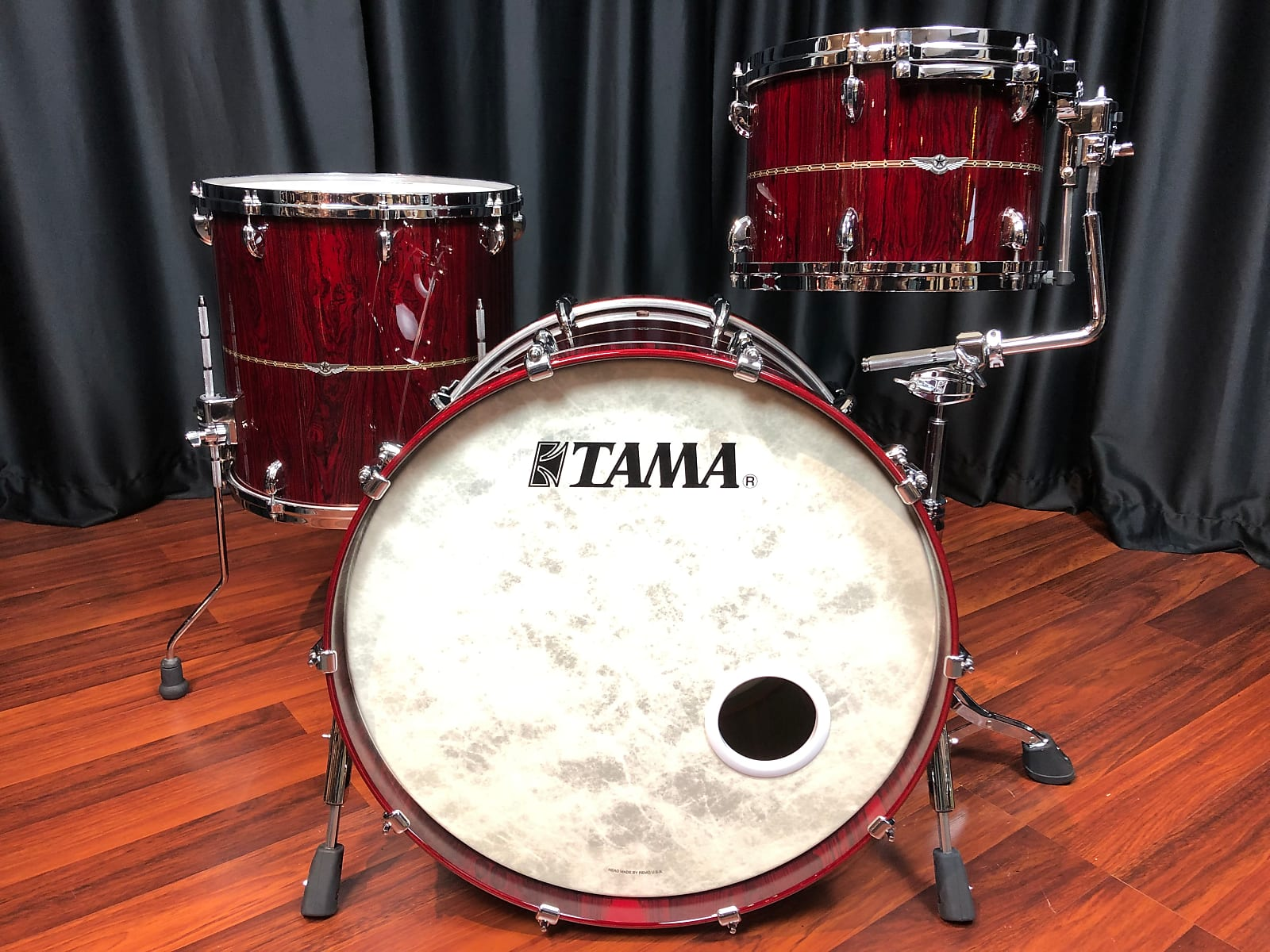 Tama drums sets Star Bubinga Dark Red Cordia 22, 16, 13