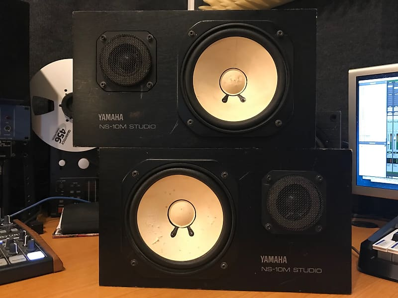 yamaha ns 10m studio monitor speakers matching pair reverb. Black Bedroom Furniture Sets. Home Design Ideas