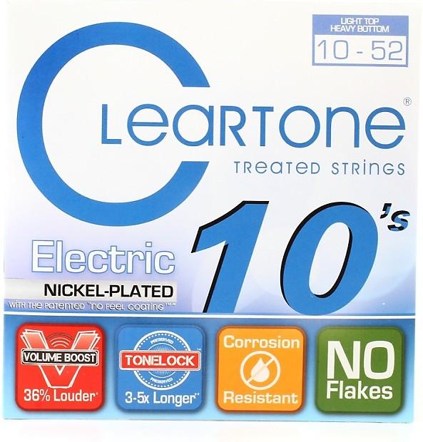 cleartone 9420 emp electric guitar strings 010 052 light reverb. Black Bedroom Furniture Sets. Home Design Ideas