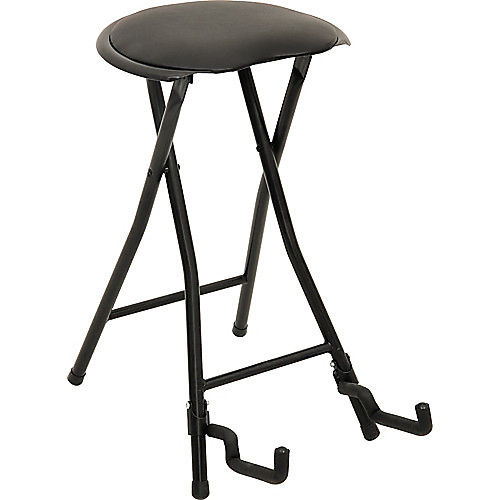 Superb Stageplayer Ii Guitarist Folding Adjustable Stool Free Shipping Squirreltailoven Fun Painted Chair Ideas Images Squirreltailovenorg