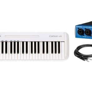 Samson Carbon 49 w/ AudioBox 96 & Cables Recording Bundle