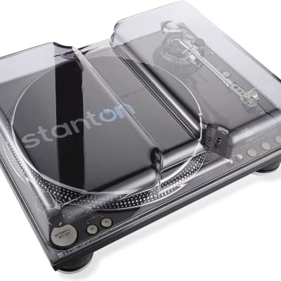 Decksaver DS-PC-STR8ST150 Stanton ST-150/STR8-150 DJ Turntable Cover