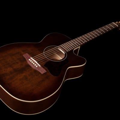 Art & Lutherie Model # 042430 Legacy  Bourbon Burst CW QIT Cutaway Acoustic Electric Guitar