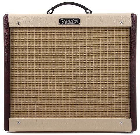 Fender Blues Junior Limited Run Wine/Blonde