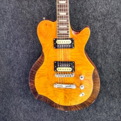 Occhineri Custom Guitar  Flamed Top for sale